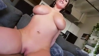Angela White With Amazing Tits