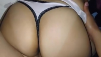 hot latina girlfriend gets fucked in her big ass