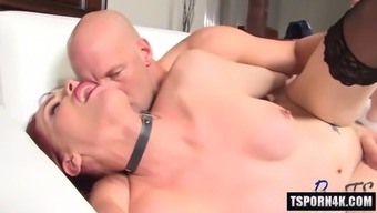 hot shemale fucked hard with facial cum
