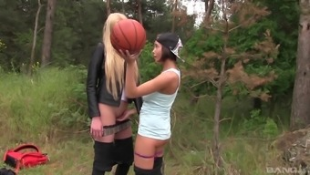Anabelle takes a walk with her friend and finds out she is a lesbian