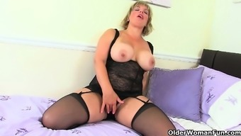 Next door milfs from the UK Raven, Danielle and Red