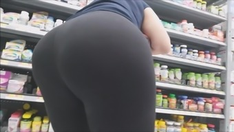 HUGE Ass with Thong Slip