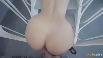 young mexican twerker melody petite seduces nerd with her bouncing ass