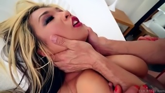 korean milf with giant tits mia rider gets roughly fucked up her butt
