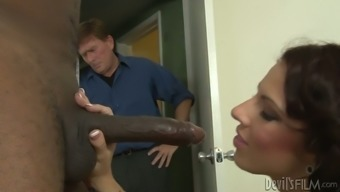 Lylith LaVey pleases Sean Michaels in Kyle Stone's eyes