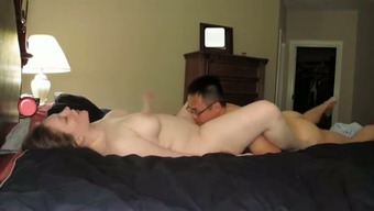 My cuckold white hubby wanted me to hook up with Asian male