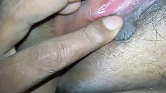 Sucking wet pussy of desi Indian wife