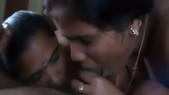 Two Indian prostitutes suck my cock in hardcore POV