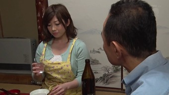 Cutest girl from Japan allows the guy to take a look at her boobs