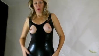 Latex and pantyhose