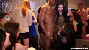 Nice ass pornstars among them tattooed amateur in a party hardcore sex.