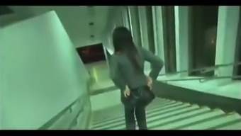 Curvy Japanese Chick fucked by Stranger on Train