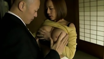 Japanese with big tits gets fucked seriously
