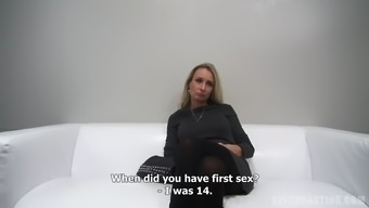 Mature milf talks about her kinky sex life on camera