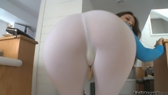 She gets off on nipple and tit pain and anal dildo destruction