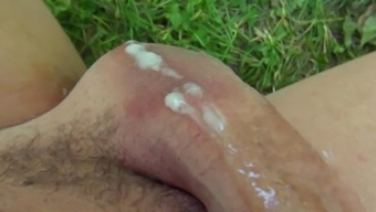 Outdoor sensations for a filthy whore