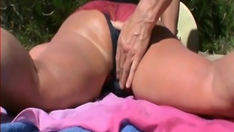 Cum drenched trembling tush