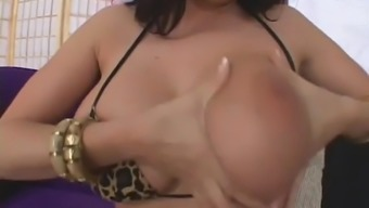 Gianna Michaels gets railed on the Couch