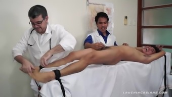 Asian Boy Argie Tickle and Blow