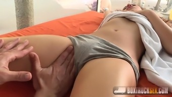 Melody Petites fucking in a loose truck