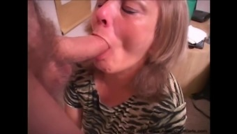 Poor Granny Gets Butt Fucked ANAL GILF