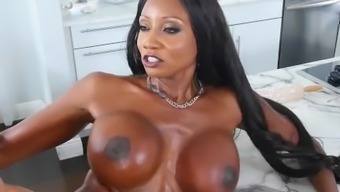 Mature MILF Diamond Jackson Fake Step Mom loves To Get Fucked In Her Tight