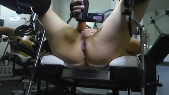 Unique anal toy, beautifull mistress, extreme games