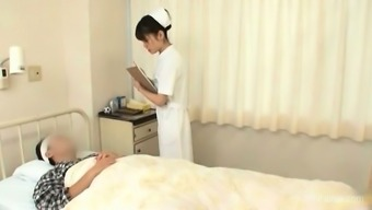 This cute nurse is so horny and she part3