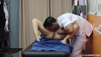 Helena Kramer cannot wait to feel a masseur's big dick