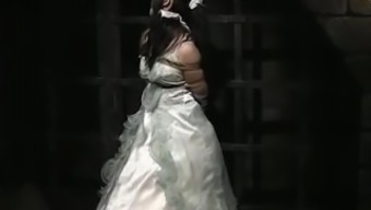 Japanese Bride in Bondage Dungeon