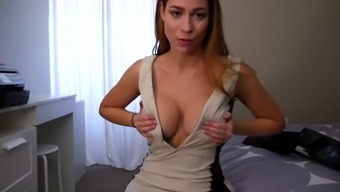 ashley alban - step mom shows off new clothes