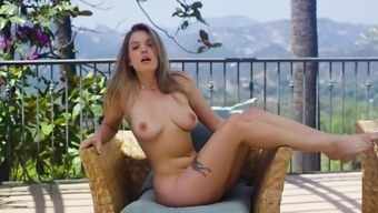 Solo girl makes magic with her soft fingers