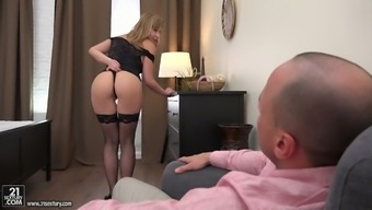 Sex-hungry whore Connie Sparta takes a dick in her stretched butt hole
