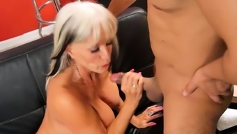 Mature Bitch Enjoys Hard Anal Pounding