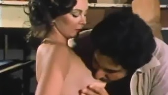 Young Ron Jeremy sucked and teased