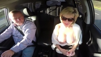 Unfaithful british milf lady sonia exposes her massive ballo