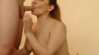 Amateur Babe Fucked by Her Man Hard