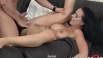 Texas Patti screaming as she gets fucked