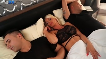 Tiffany Rousso has got the equipment and she loves MMF threesomes