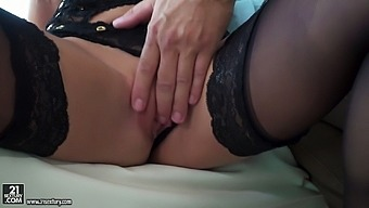 Stunning whore Amirah Adara is face fucked and fed with her favorite cum dessert