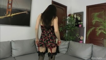 Polly Sunshine enjoys blowing strong penis like tomorrow never comes