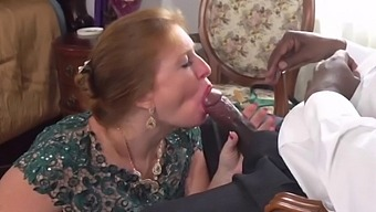 Mother in law seduction. white woman nut snatching bbc