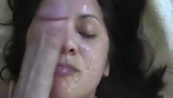 Nose #005 - Dirty talking and amazing wife rubbing face on cock