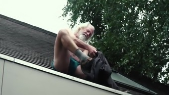 70 year old grandpa fucks 18 year old girl moans with pleasure and swallows