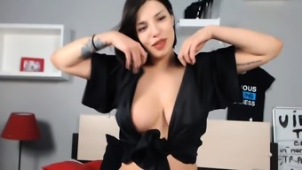 Awesome Babe Fucking Her Pussy