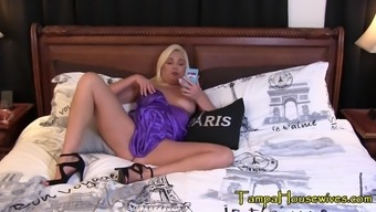 Horny housewife has a taboo session with her son