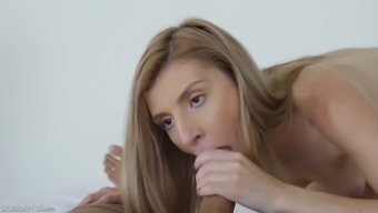 Beautiful temptress Azalea Star is making love with her new admirer
