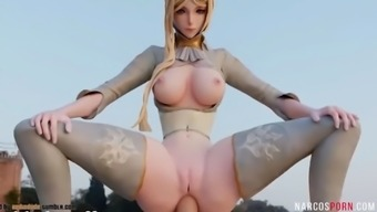 Hot ass game heroes get fucked deeply by dicks
