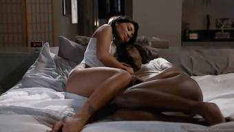 Tantalizing lesbian babes are making love like there's no tomorrow