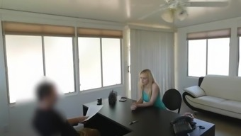 VIP4K. Chick work in strip-club and uses her talents to get a loan